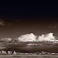 Storm Over Badlands by Steve Gadomski