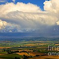 Storm Over The Kittitas Valley by Mike  Dawson