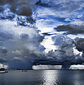 Storm Over The Ocean by Douglas Barnard