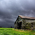 Stormy Barn by Cale Best