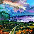 Stormy Road by John Lautermilch