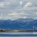 Stormy Skies In Jasper by Vivian Christopher