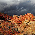 Stormy Skies Over Valley Of Fire by Vivian Christopher