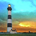 Stormy Sunrise Wc by Dan Carmichael