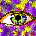 Strange Eye II by Debbie Portwood
