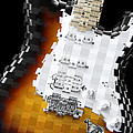 Classic Guitar Abstract 2 by Mike McGlothlen
