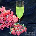 Strawberries And Wine by Michael Waters