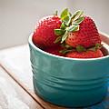Strawberries by Tammy Lee Bradley