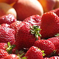Strawberries With Peaches by Alfred Ng