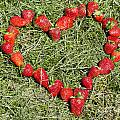 Strawberry Heart by Mats Silvan