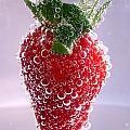Strawberry In Soda by Soultana Koleska