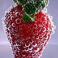 Strawberry In Soda Water by Soultana Koleska