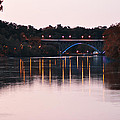 Strawberry Mansion Bridge At Dusk by Bill Cannon