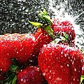 Strawberry Splatter by Colin J Williams Photography