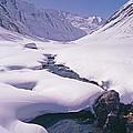 Stream In Warwan Valley by Gordon Wiltsie