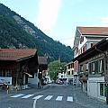 Street In Interlaken In Switzerland by Ashish Agarwal
