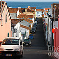 Street In Lagoa - Azores by Gaspar Avila
