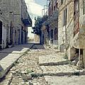 Street In Safed by Daniel Blatt