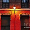 Street Lamp Cafe by John Greim