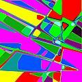 Street Map by Jann Paxton