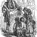 Street Musician, 1850 by Granger