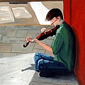 Street Musician 3 by Todd Bandy