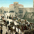 Street Of The Tower Of David by Everett