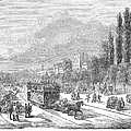 Street Railway, 1853 by Granger