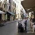 Street Restaurant by John Chatterley