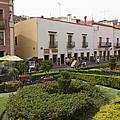 Street Scene In Plaza De La Paz by Krista Rossow