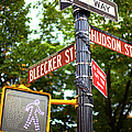 Street Signs In Nyc by Thomas Northcut
