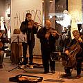 Street String Quartet by Lorraine Devon Wilke