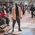 Street Tap Dancers No. One by Hiroko Sakai