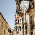 Streets Of Valetta by By Matthew Heptinstall