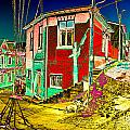 Streets Of Valparaiso by Peter Crass