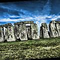 Striking Scene Of Stonehenge by Elaine Plesser