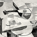 Stringed Instrument On Table by Betty Pieper