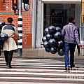 Stripes And Balls by Andrea Simon