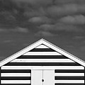 Stripes On Beach Hut by James Galpin