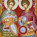 Sts Dimitrios And George by Julia Bridget Hayes