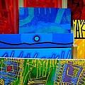 Painting Collage  II by John  Nolan