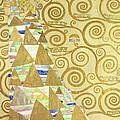 Study For Expectation by Gustav Klimt