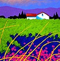 Study For Provence Painting by John  Nolan