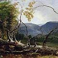 Study From Nature - Stratton Notch by Asher Brown Durand