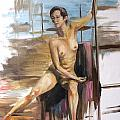 Study Wip by Diane Daigle