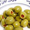 Stuffed Green Olives by Gaspar Avila