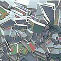 Sucrose Crystals, Sem by Steve Gschmeissner