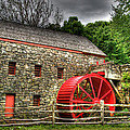 Sudbury - Storm Looms At The Grist Mill by Mark Valentine