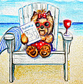 Sudoku At The Beach by Catia Lee