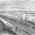 Suez Canal, 1868 by Granger